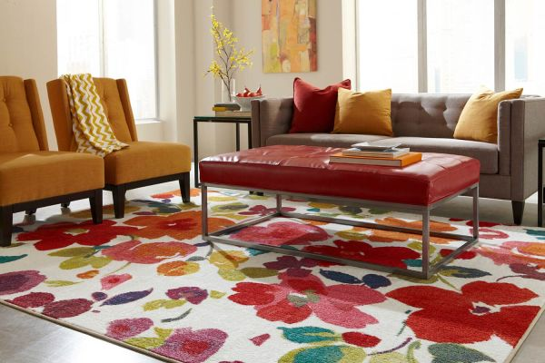 Fun Floral Rugs For Your Home, Paneling Factory Of Virginia