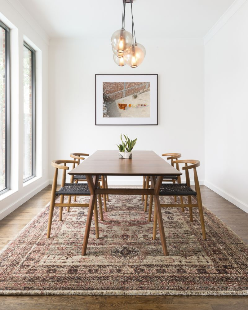Use An Area Rug To Elevate Your Dining Room, Paneling Factory Of Virginia